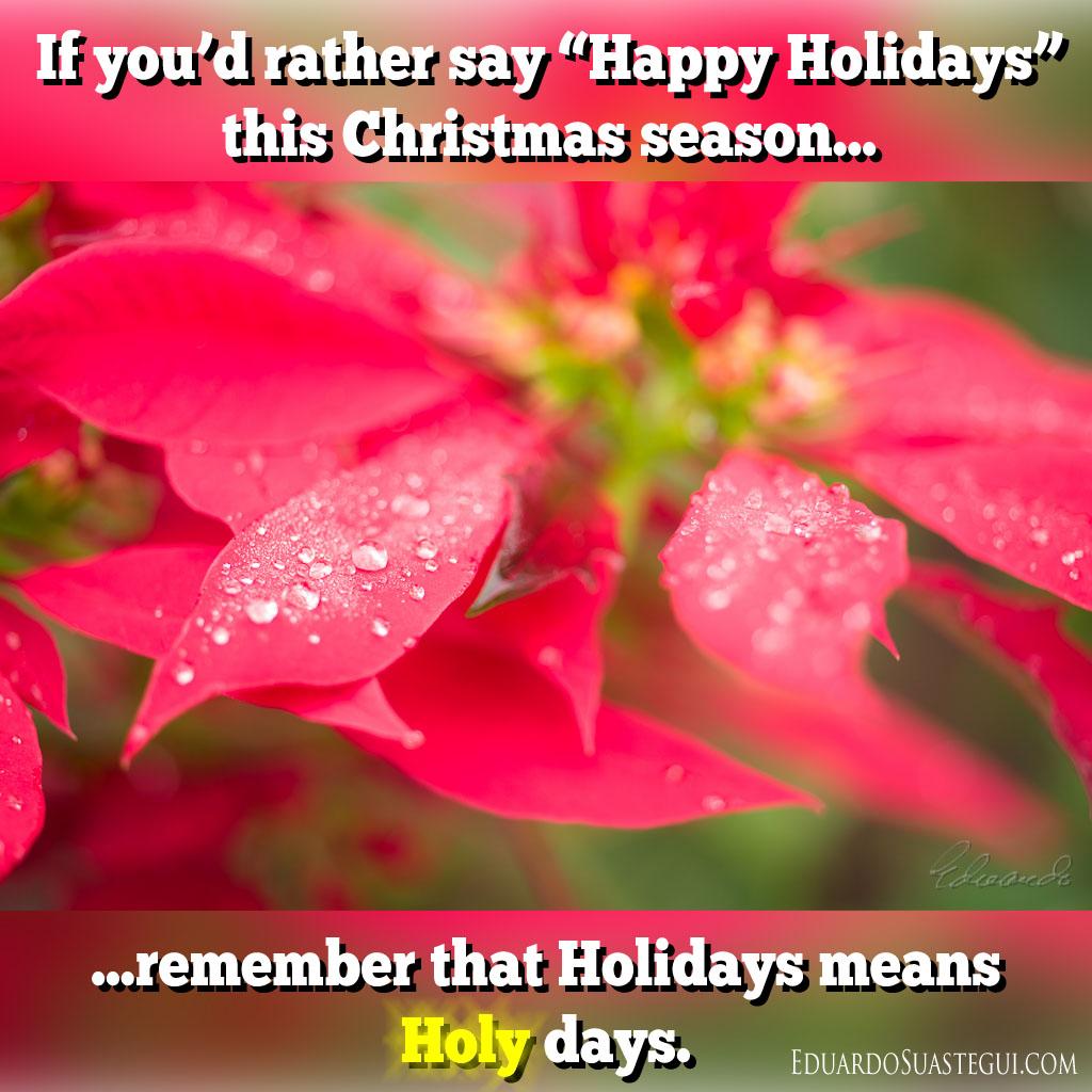 If You D Rather Say Happy Holidays This Christmas Season