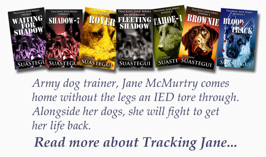 Army dog trainer, Jane McMurtry comes home without the legs an IED tore through. Alongside her dogs, she will fight to get her life back, by Eduardo Suastegui