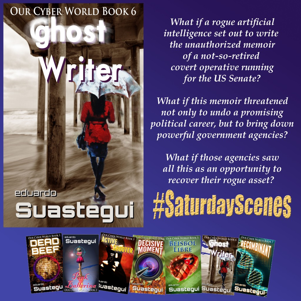 Ghost Writer, Saturday Scenes Promo, by Eduardo Suastegui