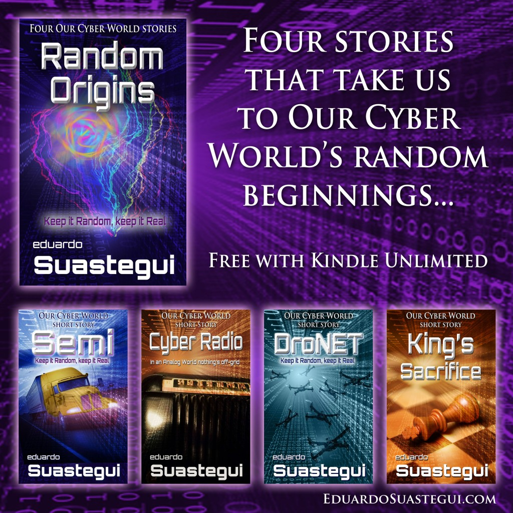 Random Origins A New Our Cyber World Story Collection Coming August 27 2015
