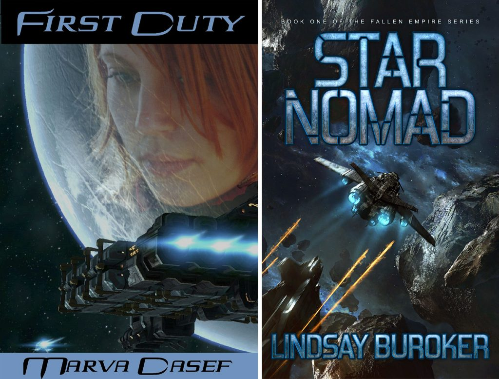 Two SciFi stories with strong female characters, reviewed by Eduardo Suastegui